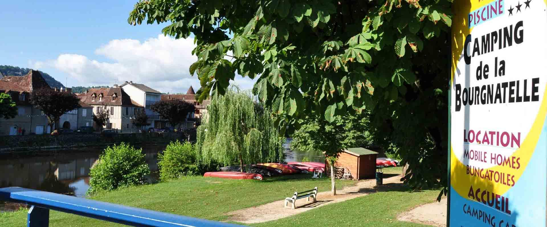 Camping en ville – La Bourgnatelle